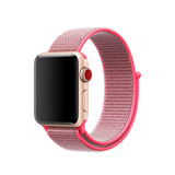 Colorful Nylon Loop Watch Strap For Apple Watch Band 38mm 42mm Sports Woven Bracelet Straps For I-Wa