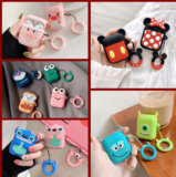 For AirPods Case Cute 3D Cartoon Kawaii Earphone Case For Airpods TWS Soft Protect case