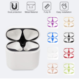 Dust Guard for Apple Airpods 1 2 Bluetooth Earphone Metal for Airpods1 Air Pods 2 Wireless Headphone